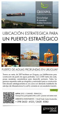 Predio para Puerto de Aguas Profundas - Oportunidad