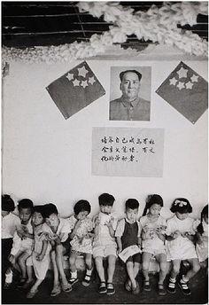 Henri Cartier-Bresson, Pre-School, Shan Shie Die Hutung, China