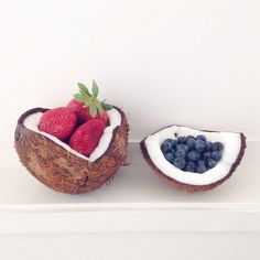 #beautyfood #coco #coconut #berries