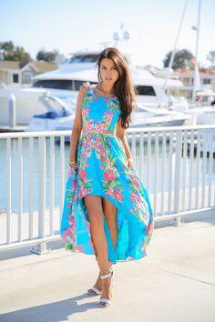 Style Ideas For Summer 2014 – Fashion Style Magazine - Blue dress
