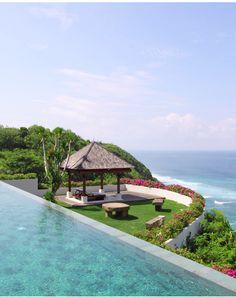 Villa Sinaran Surga, infinity view, Bali, Indonesia. www.beyondvillas.com