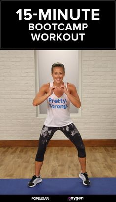 This 15-minute bootcamp workout video will whip you into shape like no other. | Posted By: CustomWeightLossProgram.com