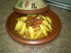 Tajin de pollo y verdura | Comida De Marruecos