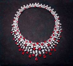 H & D Diamonds is your direct contact to diamond trade suppliers, a Bond Street jeweller and a team of designers. Tel: 0845 600 5557 - Graff ruby and diamond necklace Graff Jewelry, Ruby Jewelry, Luxury Jewelry, Diamond Jewelry, Fine Jewelry, Jewellery, Cheap Jewelry, Jewelry Box, Ruby And Diamond Necklace