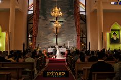 Hermosa foto de la Iglesia San Charbel #Fotografia #Bodas #Iglesia