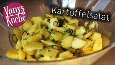 Kartoffelsalat - Rezept von Vanys Küche Potato Salad, Food And Drink, Potatoes, Ethnic Recipes, Fett, Youtube, Potato Salad Without Mayo, Potato Salad Mayonnaise, Simple Potato Salad