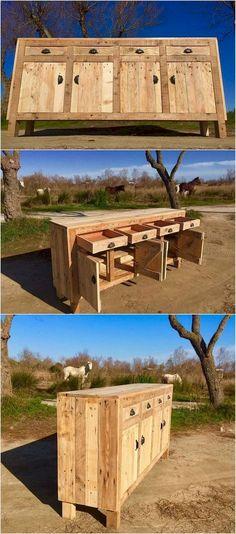 Nice 60 Creative DIY Wodden Pallet Furniture Projects https://homeastern.com/2017/10/01/60-creative-diy-wodden-pallet-furniture-projects/