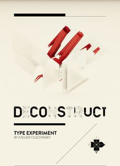 deconstruction typography - Google Search