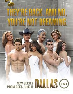 Dallas is back on TNT ~ hooked once again! So far they're doing the original series proud, staying true to the characterizations. Collective sigh of relief from Dallas fans worldwide!