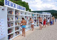 Herman Kompernas Promotes Reading by the Bulgarian Black Sea #design #ideas trendhunter.com