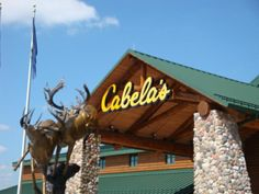 This week we spent a few hours exploring Cabela's in Hammond, Indiana. If you are like me and been around Hammond IN for awhile ( I am a Bishop Noll Hig. Hammond Indiana, Places Ive Been, Places To Go, Road Trip Usa, North West, East Coast, Just Go, Entrance, Outdoors