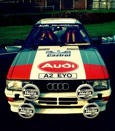 Audi Quattro rally car   | WRC Rally School @ http://www.globalracingschools.com