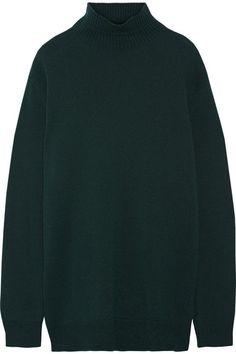 MARNI Cape-Back Wool And Cashmere-Blend Turtleneck Sweater. #marni #cloth #knitwear