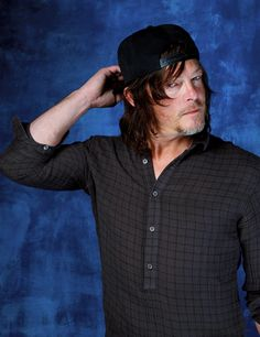 Norman Reedus photographed by Jay L. Clendenin for LA Times