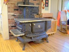 Reminds me of the stove on the Waltons