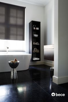 Beautiful bathrooms - Roller shade fabric # 2950 from bece