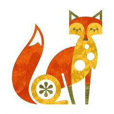 Retro Illustrations - Fox