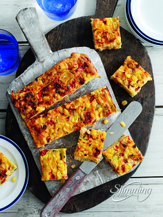 These Slimming World quiche squares are perfect for feeding a crowd.