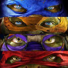 The new Teenage Mutant Ninja Turtles movie. Teenage Ninja Turtles, Ninja Turtles Art, Tortugas Ninja Leonardo, Power Rangers, Turtle Love, Gi Joe, Comic Art, Nerd, Marvel