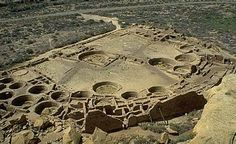 """Pueblo Bonito (Spanish for """"beautiful town""""), the largest and best known Great House in Chaco Culture National Historical Park, northern New Mexico, was built by ancestral Pueblo people and occupied between CE 828 and 1126"""