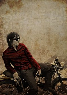 Norman Reedus - the man and his motorcycle
