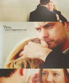 """Peter, what is happening to me?"" #Fringe ""Bad Dreams"""