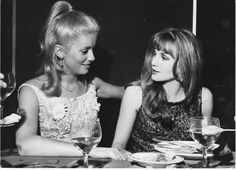 CATHERINE  and  SISTER  --  FRANCOISE  DORLEAC .
