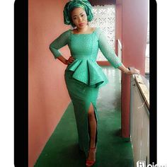 Fabulous and Trendy Aso-Ebi Styles that Will Keep You Drooling - Latest Ankara Styles African Dresses For Women, African Print Dresses, African Attire, African Wear, African Fashion Dresses, African Women, African Prints, African Style, African Inspired Fashion