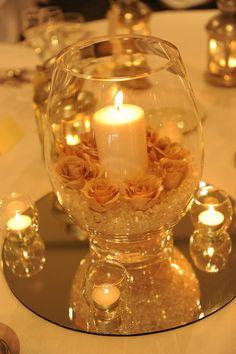 Our Centrepieces - Our Centrepieces Our Centrepieces Candle Centerpieces, Wedding Centerpieces, Wedding Table, Our Wedding, Dream Wedding, Candles, Anniversary Centerpieces, Centrepieces, Wedding Ideas
