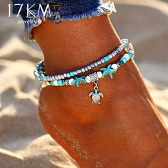 Double Layer Pendant Anklet Geometric Bracelet Charm #Double #Layer #Pendant #Anklet #Geometric #Bracelet #Charm #jewelry #bracelets #pendants #charms #gifts Double Layer Pendant Anklet For Woman New Geometric Bracelet Charm Bohemian Anklets Jewelry Summer Party Gift #diyankletsproducts