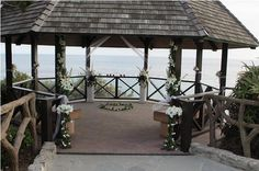 Laguna Beach Heisler Park Gazebo Wedding