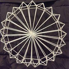 IRMAN HIMMELIKURSSIT: Ylöjärvi syksy 2016 Craft Stick Crafts, Diy And Crafts, Geometric Sculpture, Hobbies And Crafts, Handmade Gifts, Sculptures, Christmas Decorations, Xmas, Copper