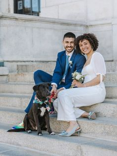 Incorporating your pet into your intimate city hall wedding Something Borrowed, Something Blue, Boston City Hall, Comedy Specials, Central Square, City Hall Wedding, Soccer Match, Dog Wedding, Life Partners