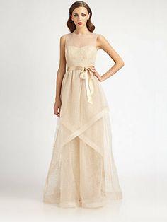 Teri Jon Swiss Dot Tulle Gown on shopstyle.com