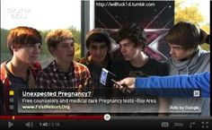 Youtube knows what's up. It's a problem when you stare at the boys long enough and boom your pregnant.