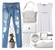 IT´S NOT MY PROBLEM by strayalley on Polyvore featuring polyvore moda style Mossimo Urban Decay philosophy Muuto