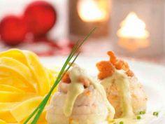 Tongrolletjes met garnalenbisque - Libelle Lekker