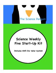I'm so excited to offer this start-up kit got SW5!  This kit has everything you need to start implementing the Science Weekly Five and even include...