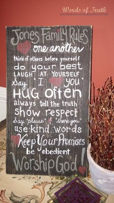 Hey, I found this really awesome Etsy listing at https://www.etsy.com/listing/245826211/family-rules