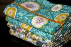 diy pillow case tutorial - love this!!
