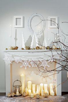 Create a False Fireplace