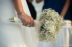 GYPSOPHILA BLANCA  ramo de novia por Atelierdekentia