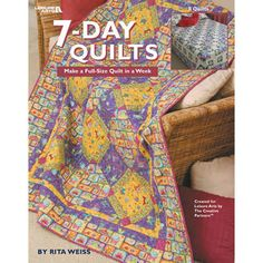 Leisure+Arts-7-Day+Quilts