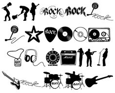 Rock Star font by Blue Vinyl - FontSpace Rock N Roll, Festa Rock Roll, Rock Tattoo, Rock And Roll Tattoo, Rock Chic, Glam Rock, Boli 3d, Rockstar Party, Rock Star Theme