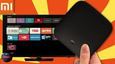 Androit TV sur un téléviseur en 4K vidéo. #Androitv Xiomi Mi box dotée du #Wifi et  Bluetooth