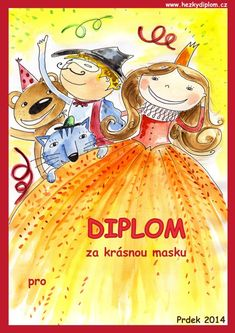 diplom - karneval Indoor Activities For Kids, Lego, Clip Art, Costumes, Education, Halloween, Frame, Preschools, Day Planners