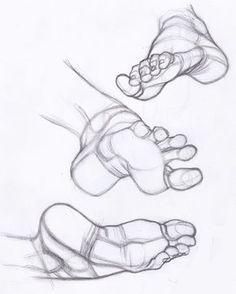 Date una idea de como puedes dibujar un pie.                                                                                                                                                                                 Más