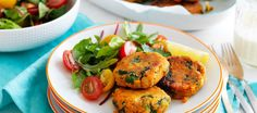 Australian Sweet Potatoes | Sweet Potato and Lentil Patties (egg-free)