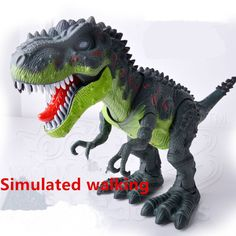 Cheap electric animal, Buy Quality electric dinosaur directly from China dinosaur electric Suppliers: tamagochi robo Dinosaur Arrival Realistic Electric Animal Model Tyrannosaur Battery Flashing Simulated walking Toys gift Electronic Toys, Hobbies, Lion Sculpture, Walking, Electronics, Pets, Statue, Website, Shop