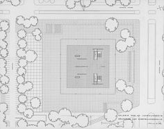 ludwig mies van der rohe… präsentationsmappe für den bau der neuen nationalgalerie, 1963 @ smb